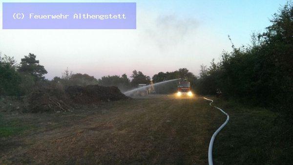 Kleinbrand vom 24.09.2016  |  (C) Feuerwehr Althengstett (2016)
